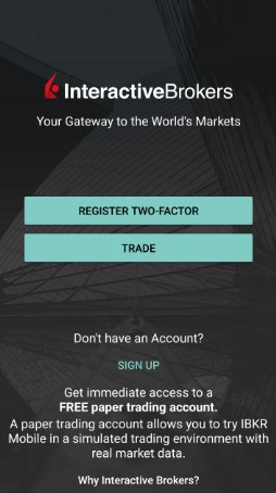 application mobile interactive brokers