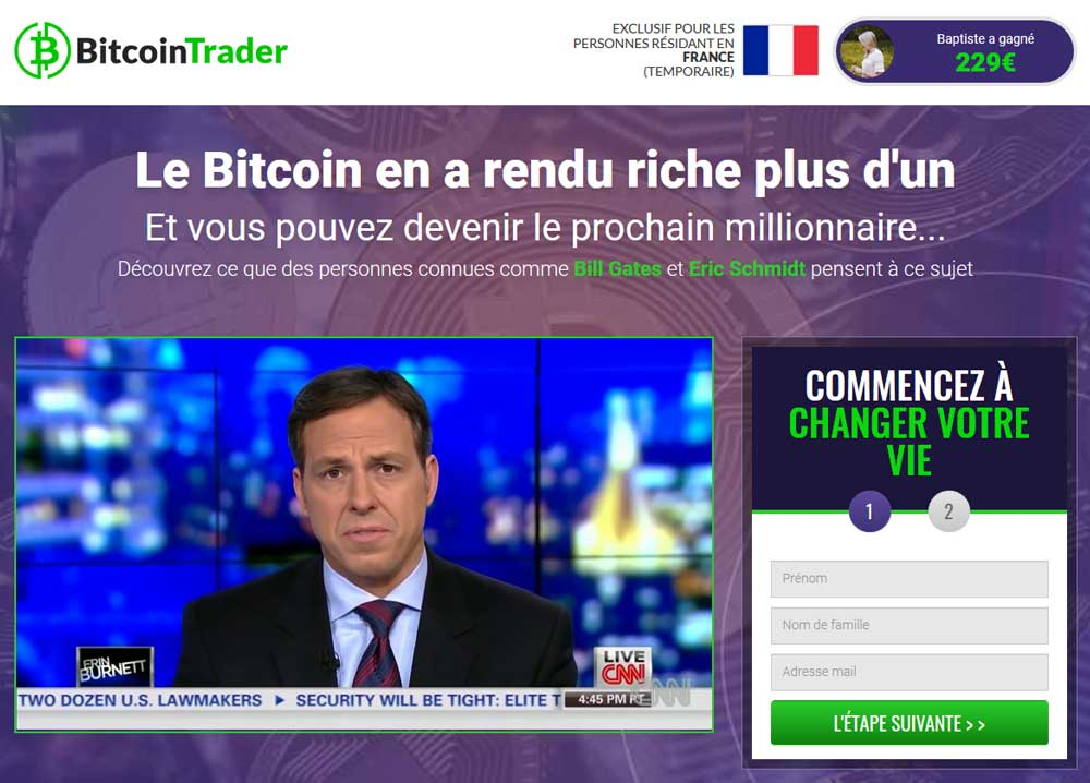 Bitcoin Trader avis : l'expert du trading automatisé en crypto-monnaies