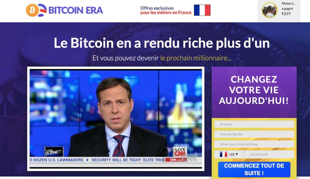 Bitcoin Era avis : le robot de trading automatisé pour la crypto-monnaie
